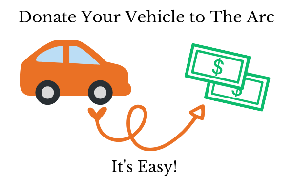 Donate your vehicle to The Arc